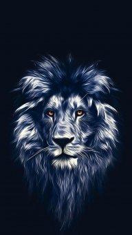 Unwavering Lion