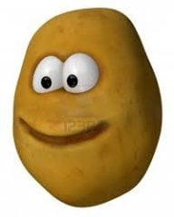 A potato person